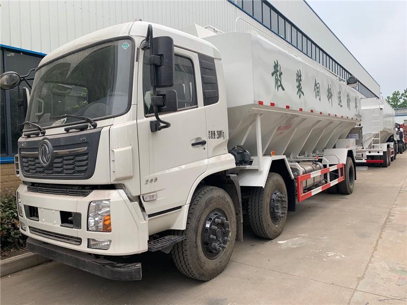 液压15吨散装饲料车
